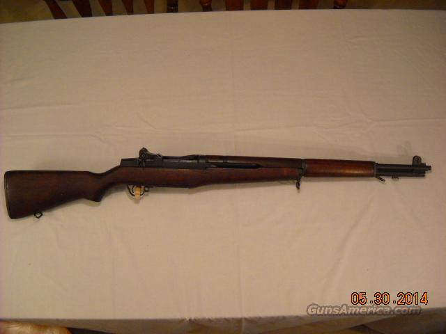 US Springfield M1 Garand with matching 5-55 barrel and all Springfield parts  Guns > Rifles > Military Misc. Rifles US > M1 Garand