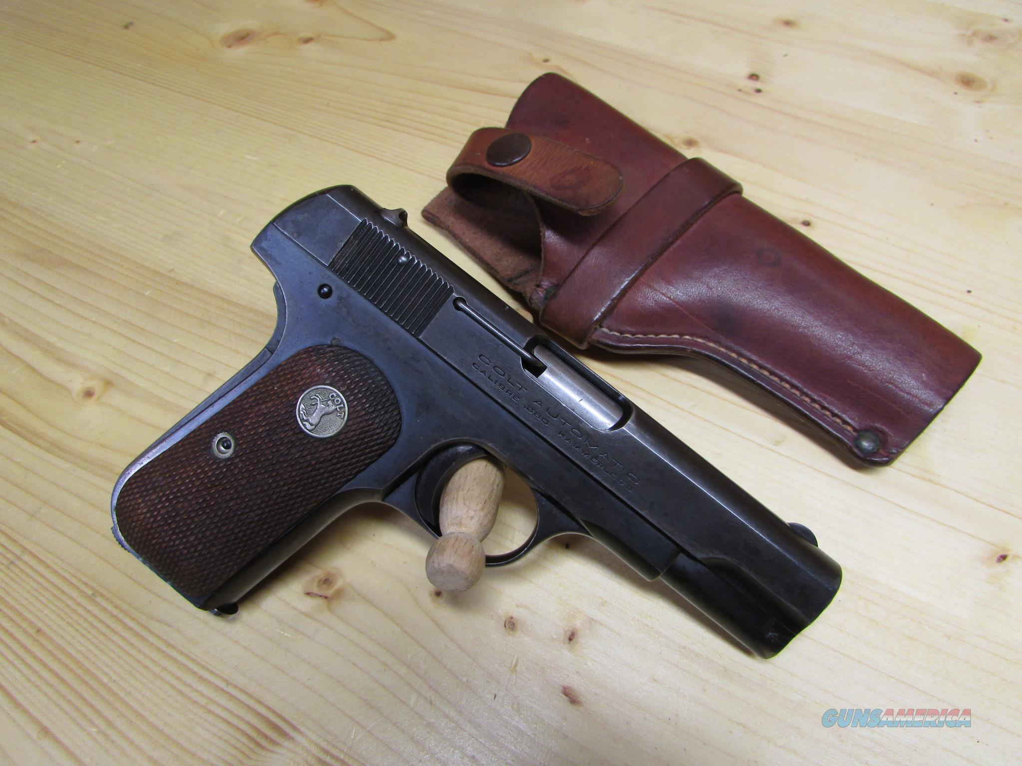 Colt Model 1908 1903 .380 Type 3 Heiser Holster  Guns > Pistols > Colt Automatic Pistols (.25, .32, & .380 cal)