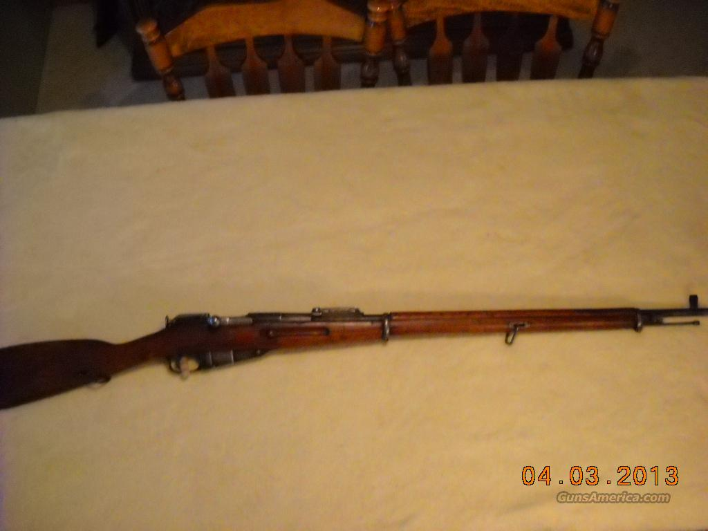 Russian Model 1891 Mosin Nagant No Import Marks  Guns > Rifles > Military Misc. Rifles Non-US > Other