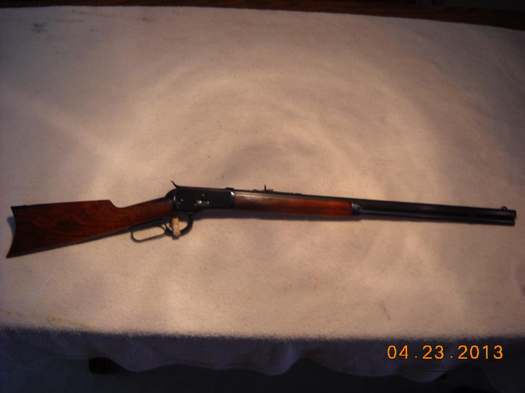 Winchester Model 1892 38 WCF made in 1910  Guns > Rifles > Winchester Rifles - Modern Lever > Other Lever > Pre-64
