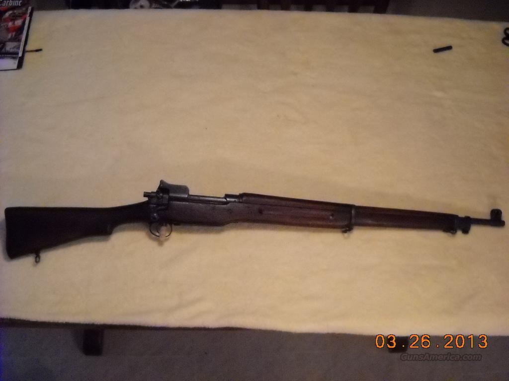 WW1 US Model 1917 Eddystone Rifle   Guns > Rifles > Military Misc. Rifles US > Model 1917 Variants