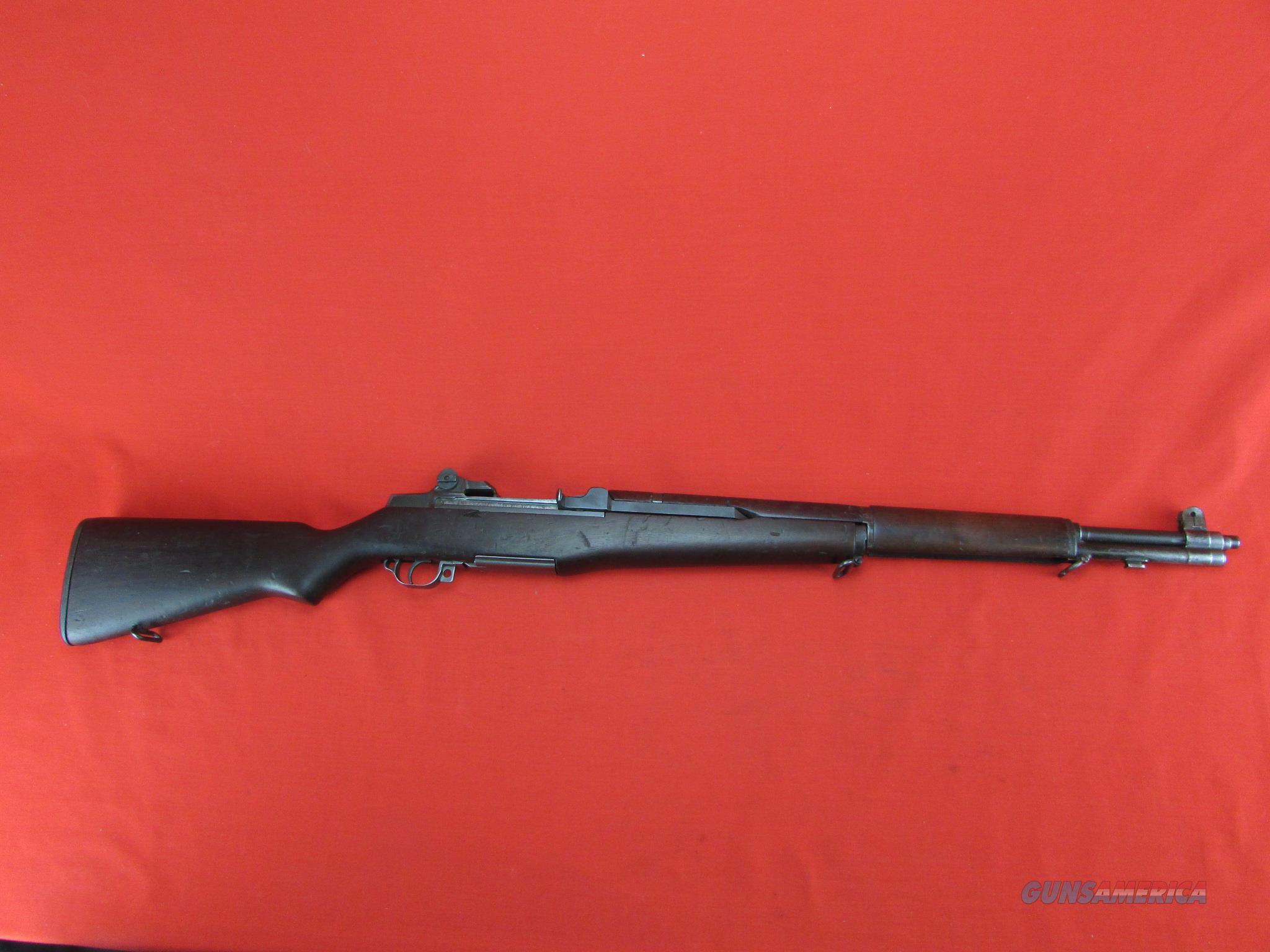 WW2 Springfield M1 Garand w/ 6/45 matching barrel and SA/NFR stock  Guns > Rifles > Military Misc. Rifles US > M1 Garand