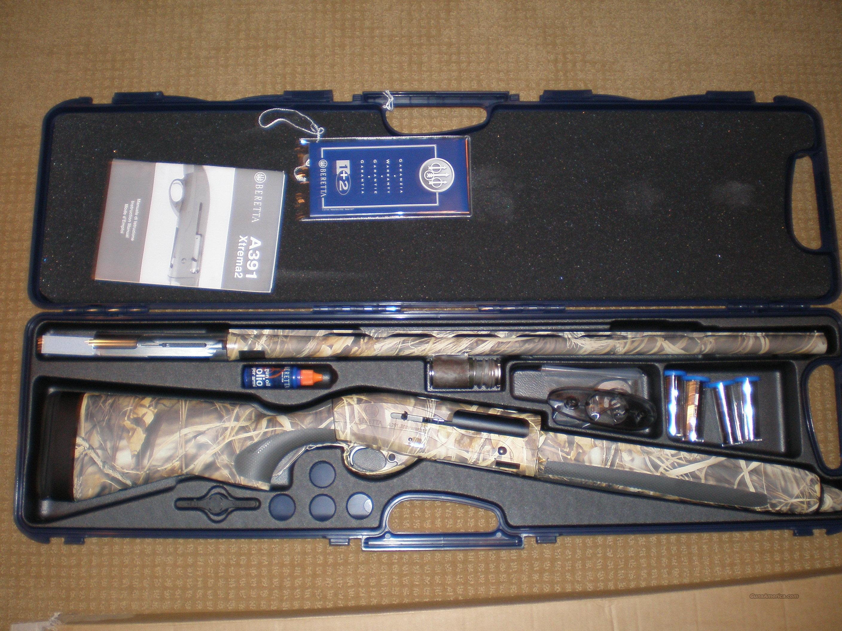 Beretta A391 Xtrema2 Camo Max - 4 12G/28/OBF Shotgun - NEW IN BOX  Guns > Shotguns > Beretta Shotguns > Autoloaders > Hunting