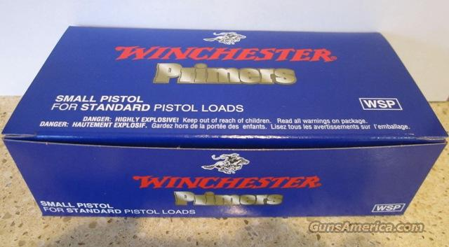 "WINCHESTER ""WSP"" SMALL PISTOL PRIMERS  Non-Guns > Reloading > Components > Other"