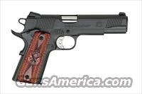 Springfield Armory, PX9109LP, .45ACP, 1911, Parkerized, Cocobolo Grips, Fixed Combat Trijicon Night Sights,  Lightweight Speed Trigger, Delta Lightweight Hammer, High-Hand Beavertail Grip Safety, Blue Plastic Case, Mag Pouch, Paddle Holster  Guns > Pistols > Springfield Armory Pistols > 1911 Type