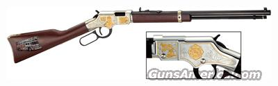 Henry Firefighter Tribute Commemorative Edition, .22 Caliber, Lever Action, Model H004FM, Rifle  Guns > Rifles > Henry Rifle Company