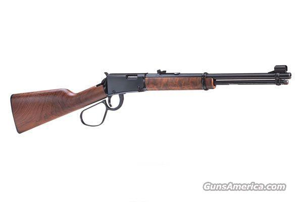 Henry, Model H001L, Large Loop, .22LR, Blue, Walnut Stock, 12+1 Round, Lever Action Rifle  Guns > Rifles > Henry Rifle Company