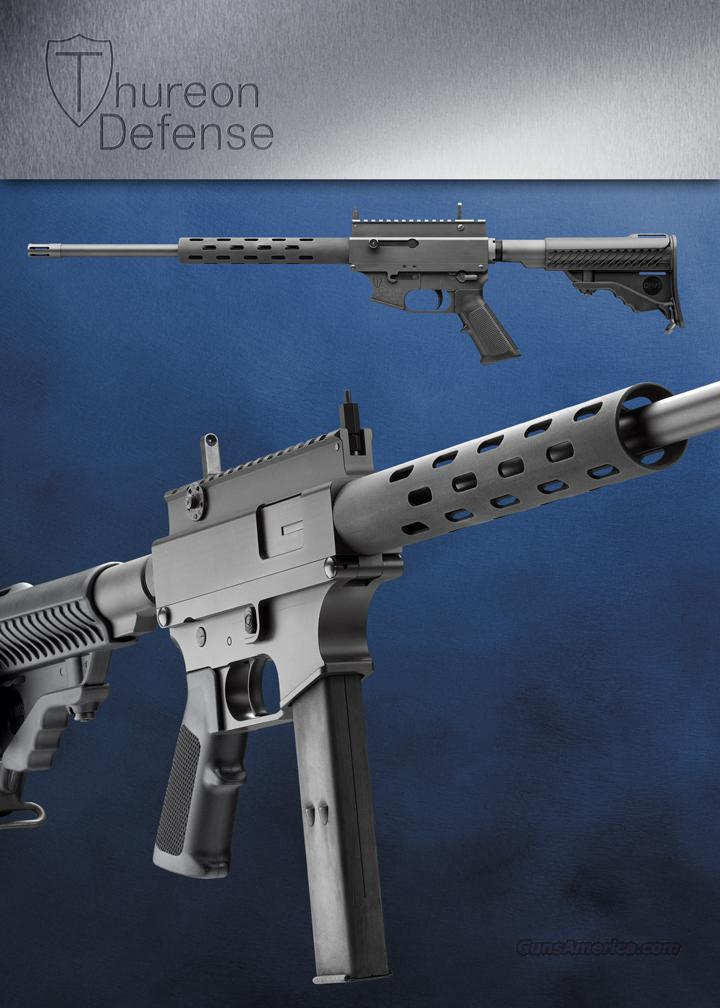 Thureon Defense, 9mm, AR15 Style, Tactical Rifle, Shoots Less Expensive 9mm Pistol Ammo, and can be used with Slide Fire Simulated Fully Automatic Firing Device  Guns > Rifles > XYZ Misc Rifles