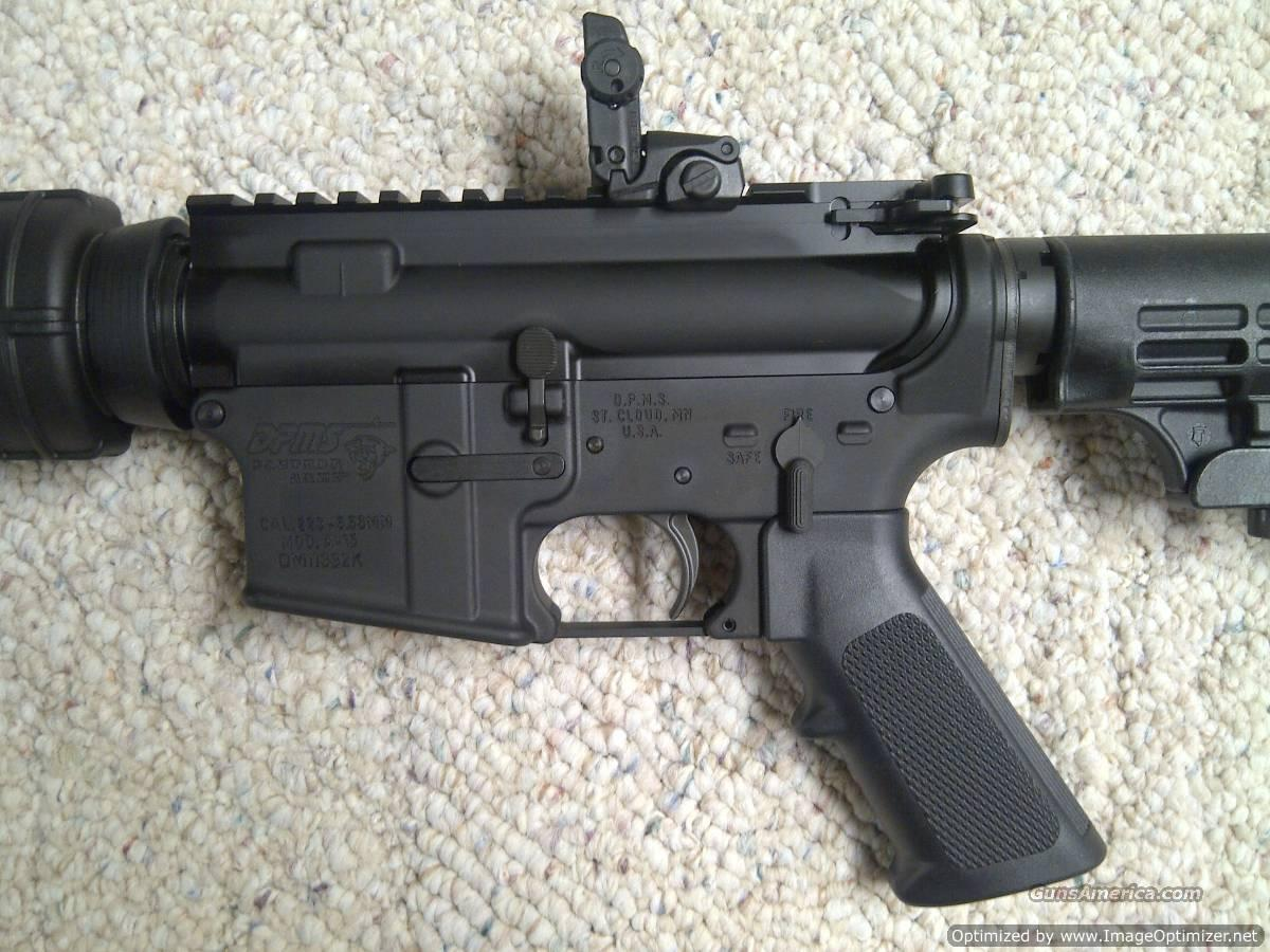 Spikes Tactical Upper with ST-T2 Tungsten Buffer/DPMS Lower, Assembled Rifle is Brand New, Unfired, Never Been Displayed, .223/5.56 Nato, with Magpul MOE MBUS #MAG248-BLK Rear Back Up Sight, with PMag 30 Round Magazine, and Soft Case...  Guns > Rifles > A Misc Rifles