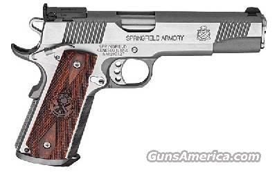 "Springfield Armory, Model PI9140LP, Trophy Match, .45ACP, Stainless Steel, with 11-GS Package, Gray Plastic Case...WITH EXTRA SET of ""U.S."" Military Style Grips  Guns > Pistols > Springfield Armory Pistols > 1911 Type"
