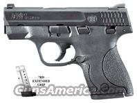 Smith & Wesson M&P9 Shield, Black Melonite Finish, Polymer Frame, SKU #180021  Guns > Pistols > Smith & Wesson Pistols - Autos > Polymer Frame