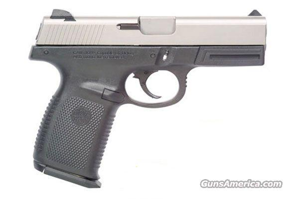 "Smith and Wesson, Sigma, 40S&W, Double Action, 4"" Barrel, Black Polymer Frame/Stainless Steel Slide WITH (14) + 1 ROUND HIGH CAPACITY MAGAZINES!!! (NOT JUST TEN ROUND MAGS)!  Guns > Pistols > Smith & Wesson Pistols - Autos > Polymer Frame"