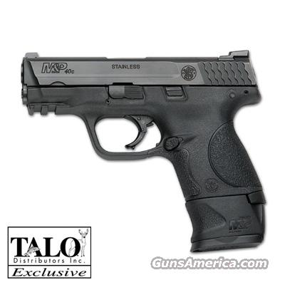 Smith & Wesson M&P40C, Compact, .40S&W, SKU#150955, TALO Special Edition, With FREE X-Grip Magazine Extension, Includes one (10) Round Magazine, and one (15) Round Magazine for use with the X-Grip Magazine Extension...  Guns > Pistols > Smith & Wesson Pistols - Autos > Polymer Frame