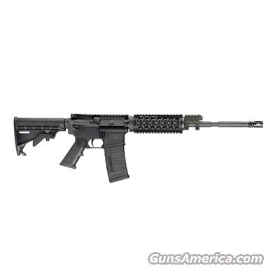 "Smith & Wesson, M&P15PS, Piston Operated, SKU #811022, 5.56 NATO/.223 Caliber, 16"" Barrel, Includes Standard Round Handguard, and Carbine Length, Four Rail, Hard Coat Anodized, 1911 Mil Spec, Drop-In Ready  Modular Handguard   Guns > Rifles > Smith & Wesson Rifles > M&P"