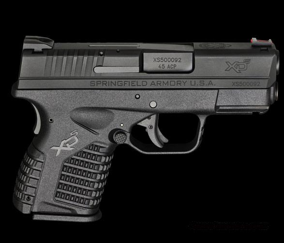 Springfield Armory XDS, Single Stack .45ACP  Guns > Pistols > Springfield Armory Pistols > XD-S