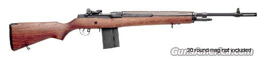 Springfield Armory, Model MA9222, M1A, Loaded,  American Walnut Stock, with National Match Trigger, National Match Front Sight and Non-Hooded Rear Sight,  and National Match Flash Suppressor  Guns > Rifles > Springfield Armory Rifles > M1A/M14