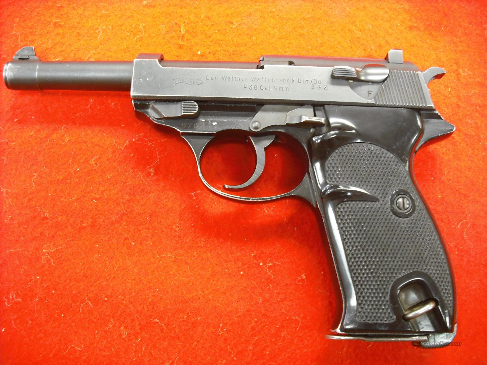 Walther P 38  Guns > Pistols > Walther Pistols > Pre-1945 > P-38