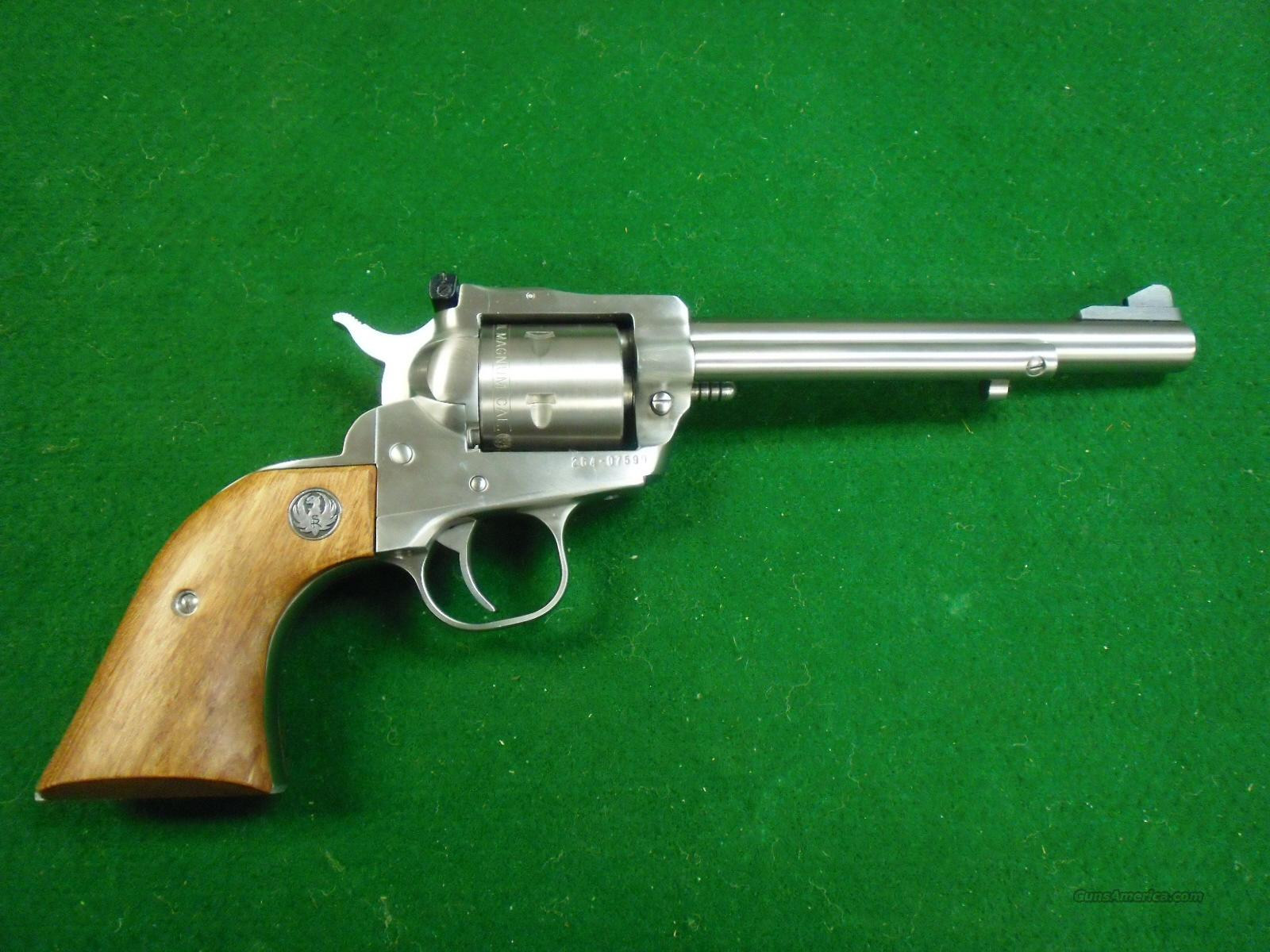 Ruger Single Six, 22 WRM, Stainless  Guns > Pistols > Ruger Single Action Revolvers > Single Six Type