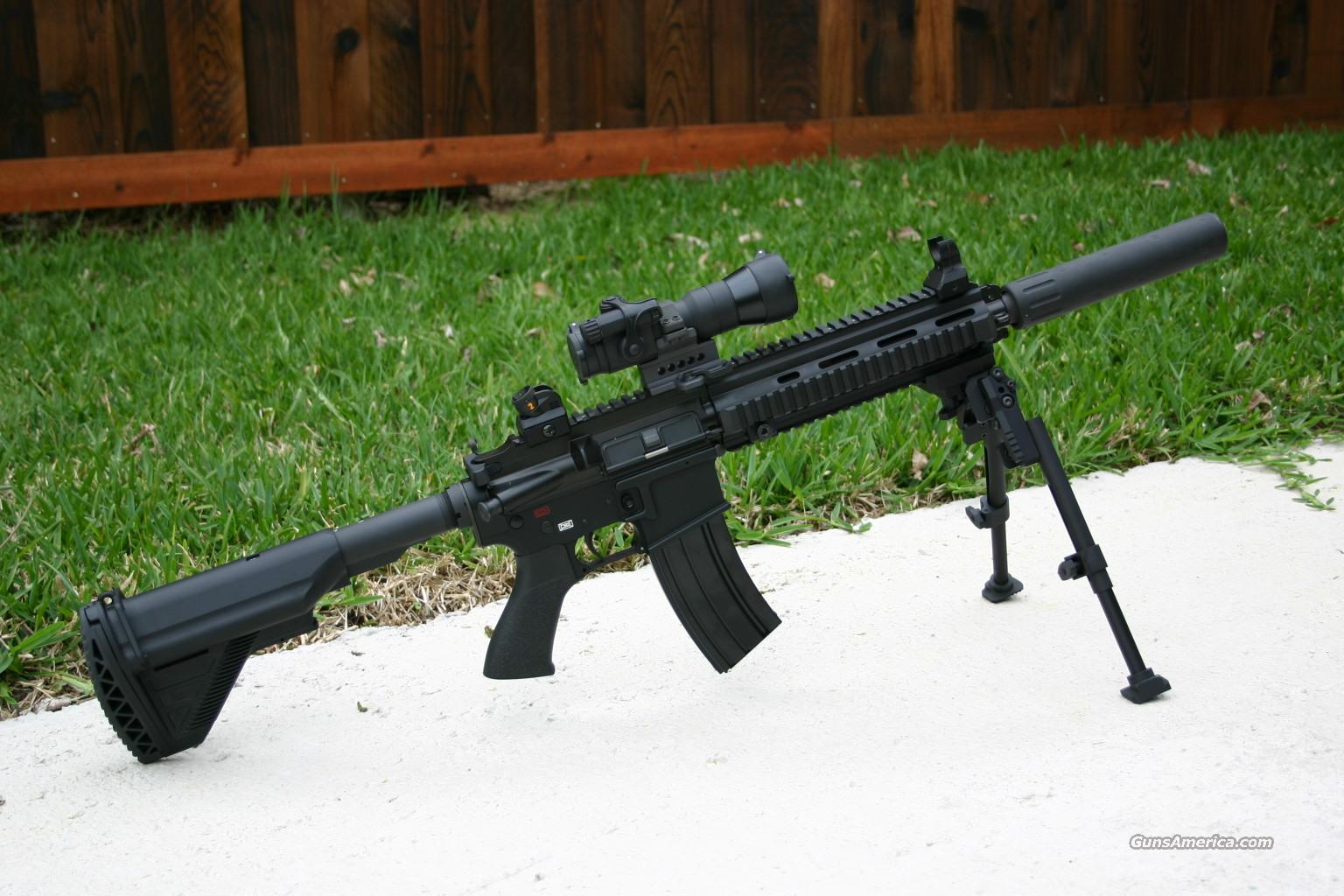 H&K SBR HK416  Guns > Rifles > Heckler & Koch Rifles > Tactical