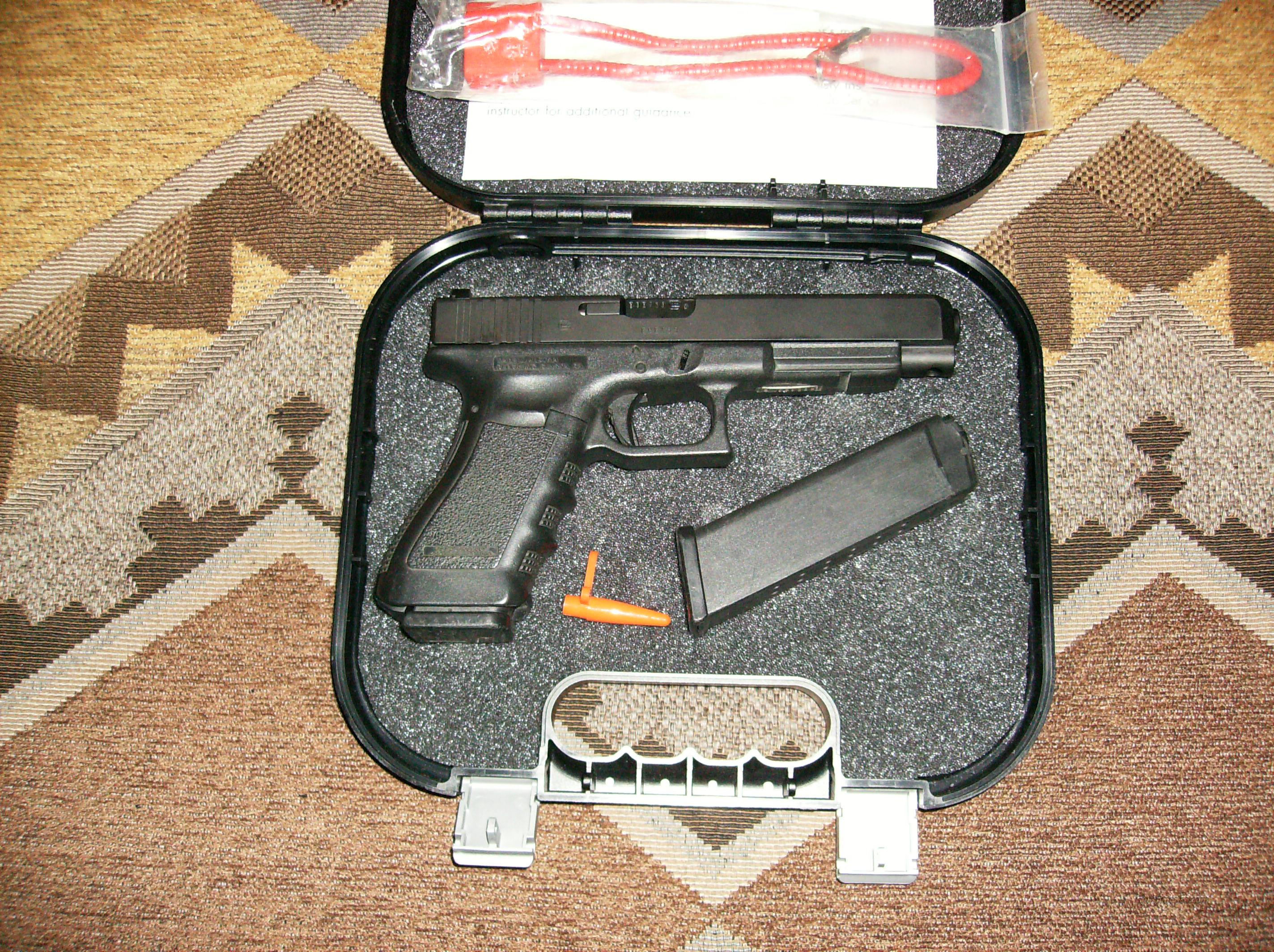 Glock 35 Tactical with Night Sights  Guns > Pistols > Glock Pistols > 35