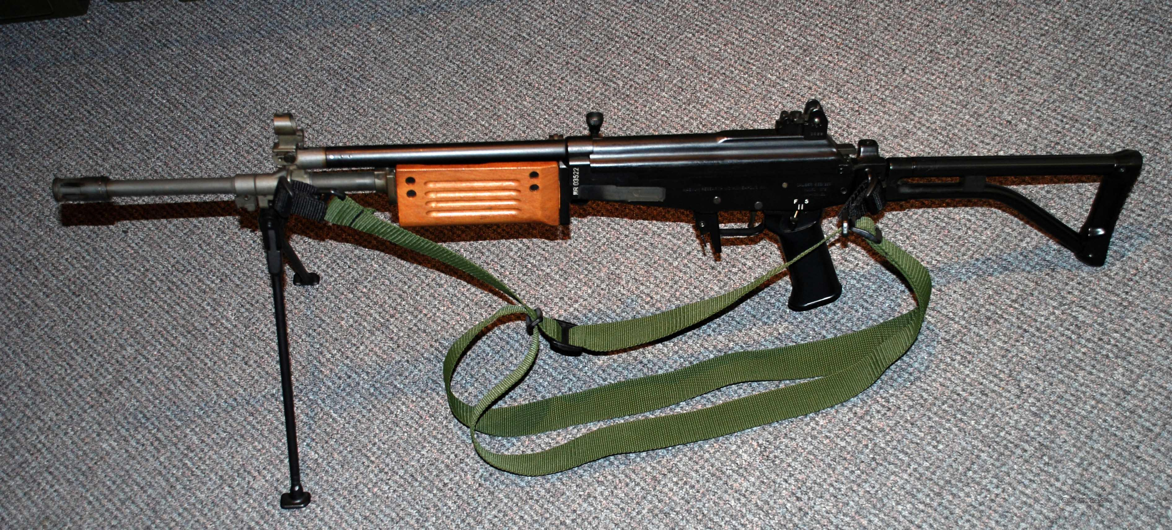 Galil Model 372 ARM 5.56mm   Guns > Rifles > Galil Rifles