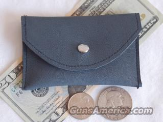 Leather Coin Change Purse Pouch - USA Made   Non-Guns > Logo & Clothing Merchandise
