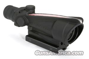 TA11JRMR: 3.5x35 Trijicon ACOG® Illuminated Scope Red  Non-Guns > Scopes/Mounts/Rings & Optics > Tactical Scopes > Red Dot