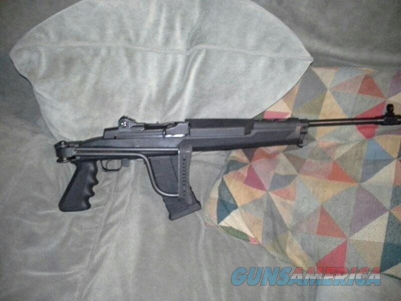 Ruger Mini 14 Tactical Folding stock 6 Mags, Side Mounted Scope Mount/  Guns > Rifles > Ruger Rifles > Mini-14 Type