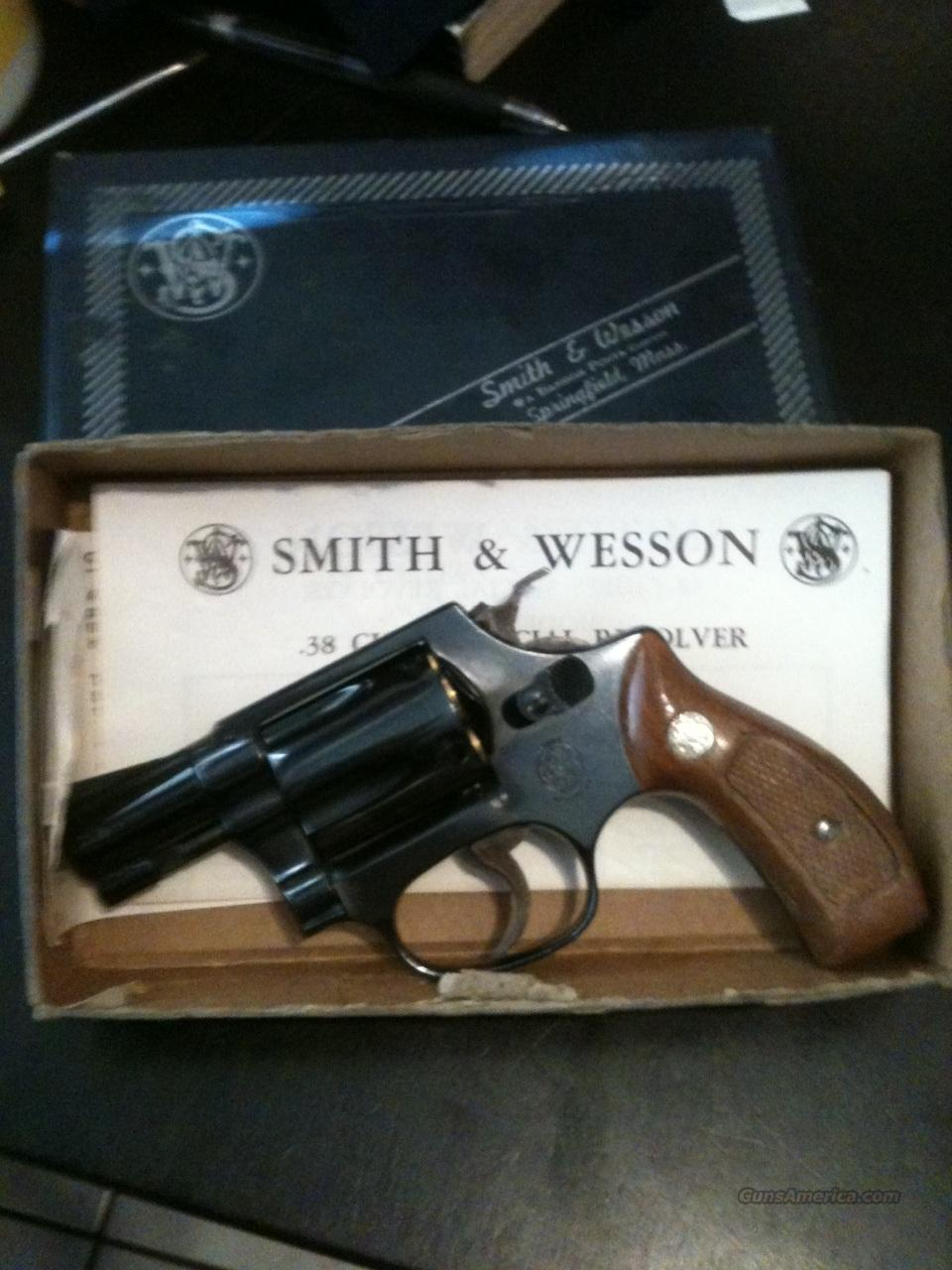 Smith and Wesson 36 LNIB Chiefs Special 100%  Guns > Pistols > Smith & Wesson Revolvers > Full Frame Revolver
