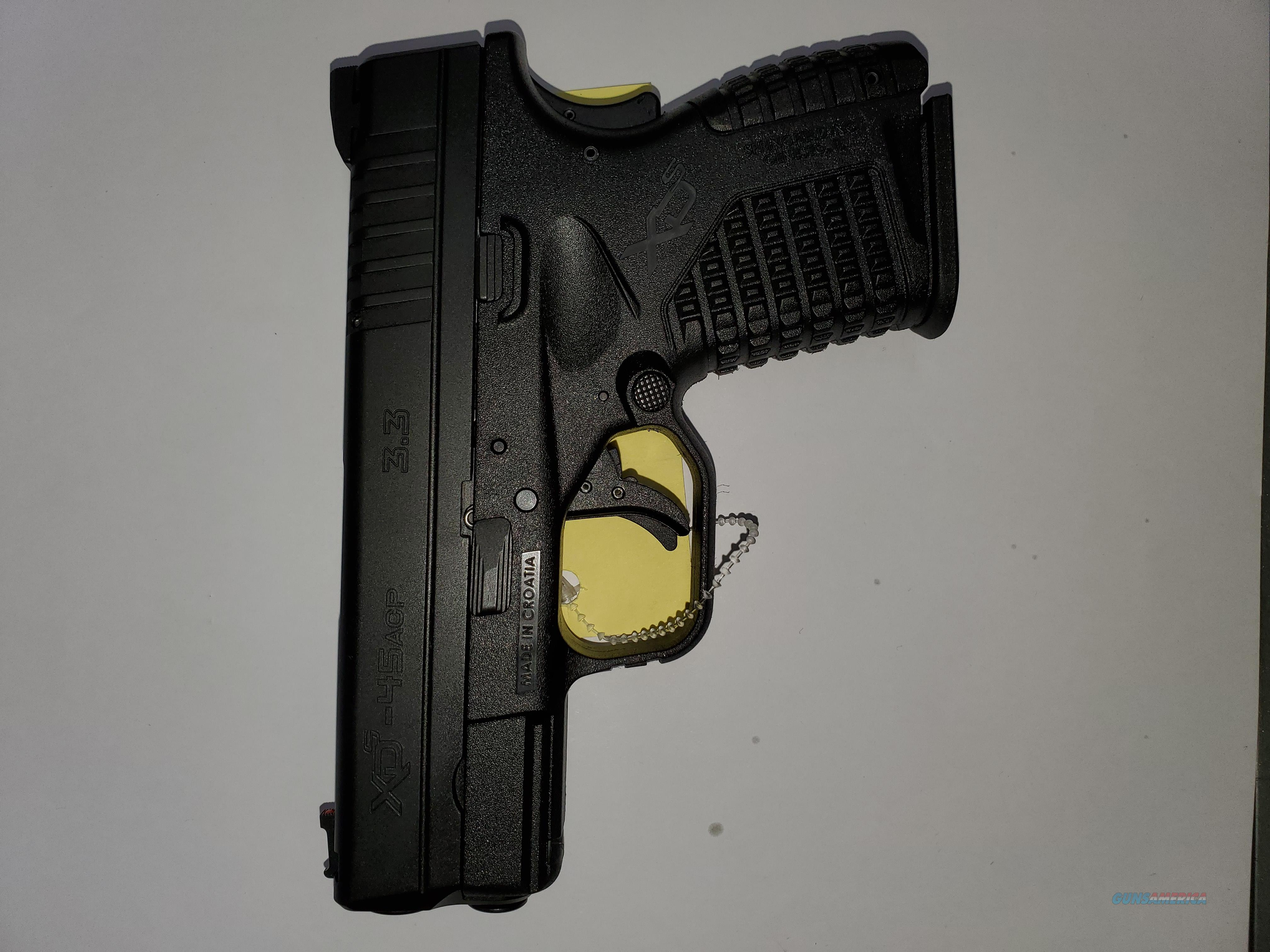 Springfield xd-s 45  Guns > Pistols > Springfield Armory Pistols > XD-S