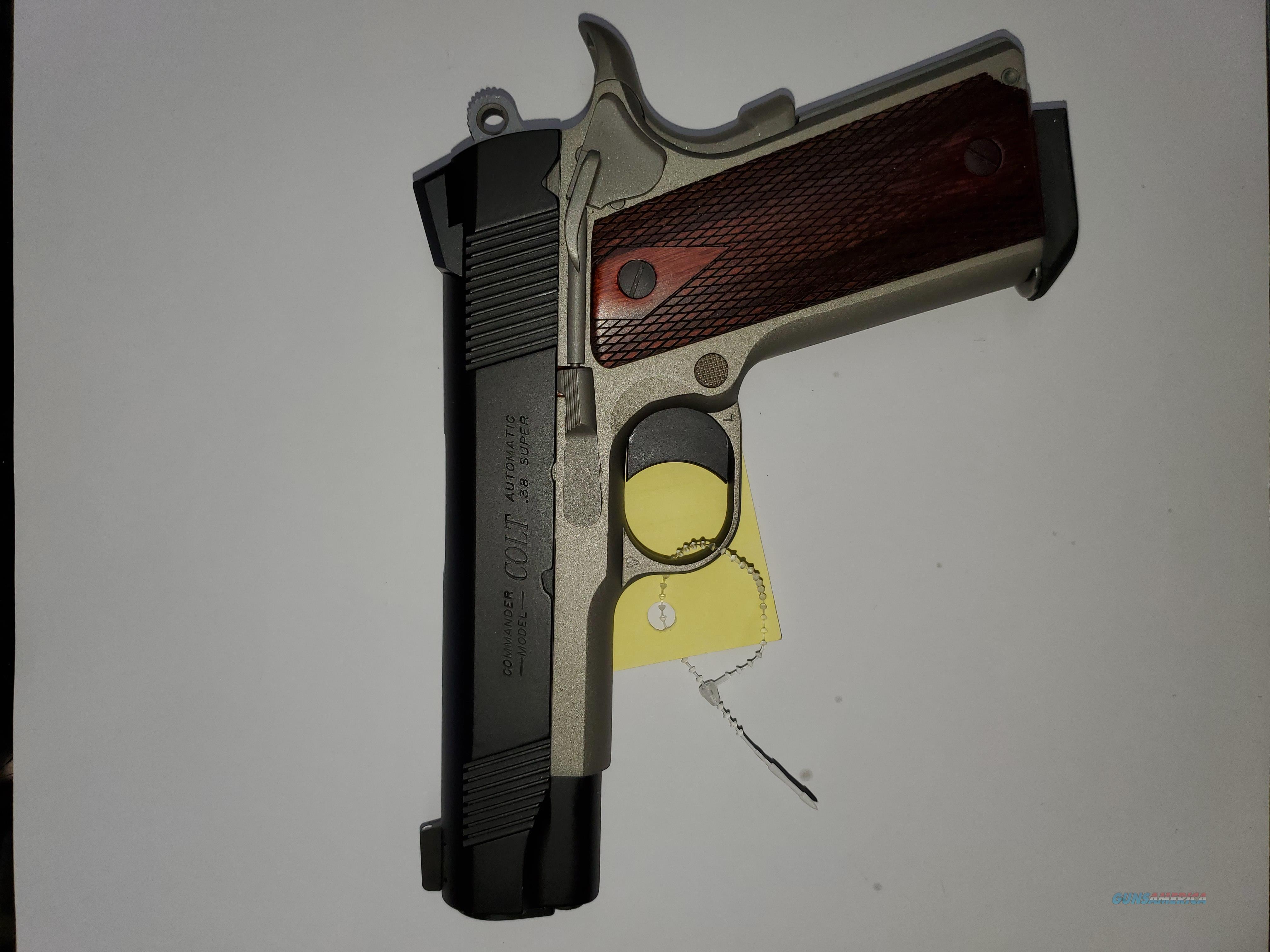Colt commander 38 super  Guns > Pistols > Colt Automatic Pistols (1911 & Var)