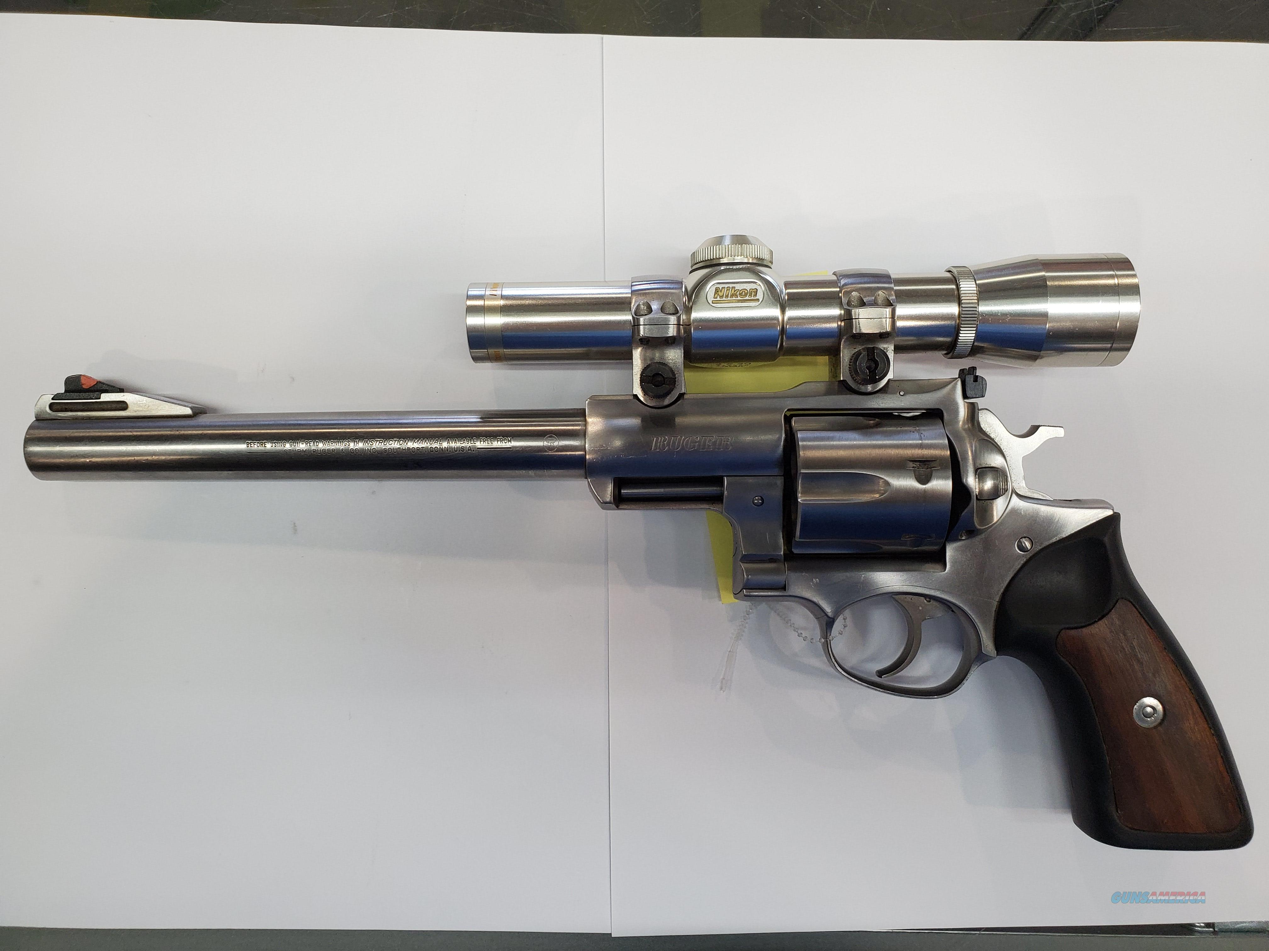 Ruger Super Redhawk w/ scope  Guns > Pistols > Ruger Double Action Revolver > Redhawk Type