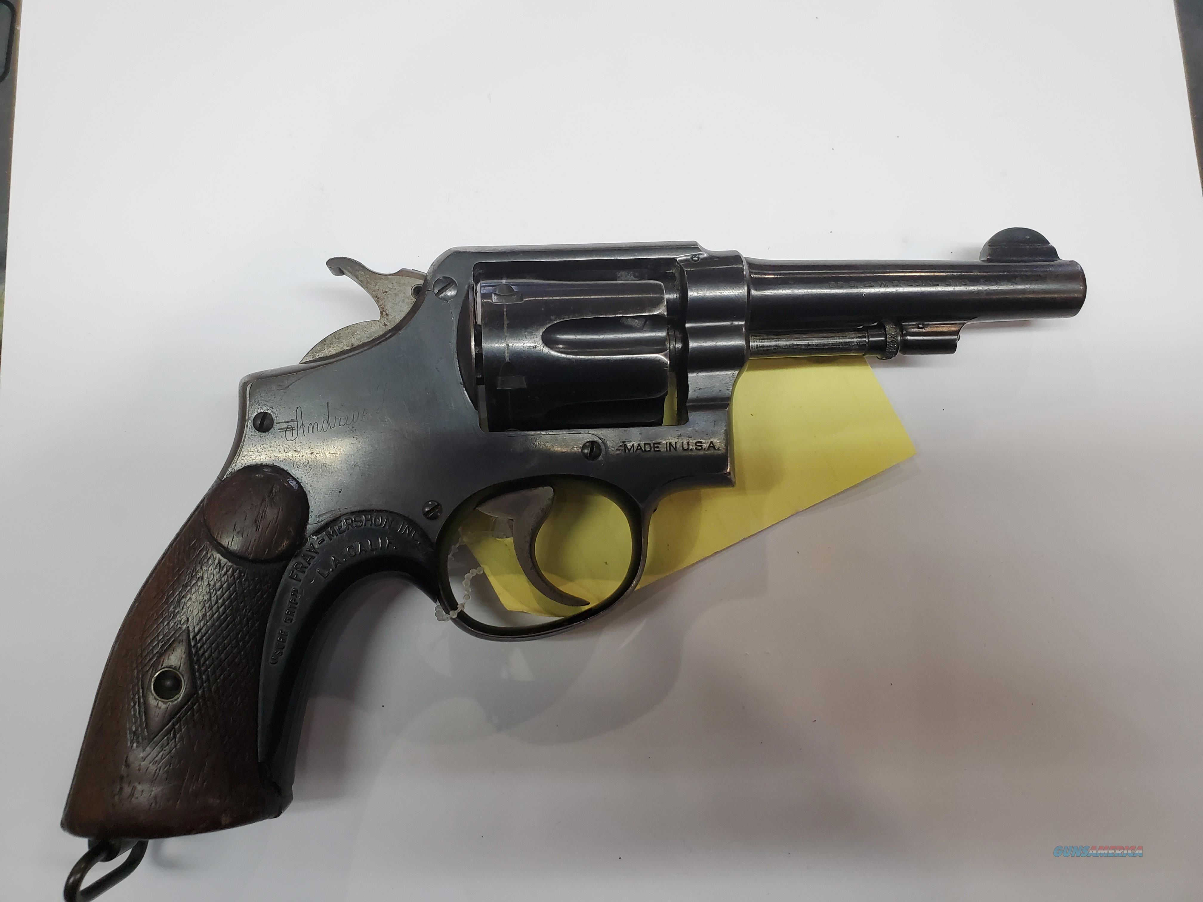 S&W police special   Guns > Pistols > Smith & Wesson Revolvers > Med. Frame ( K/L )