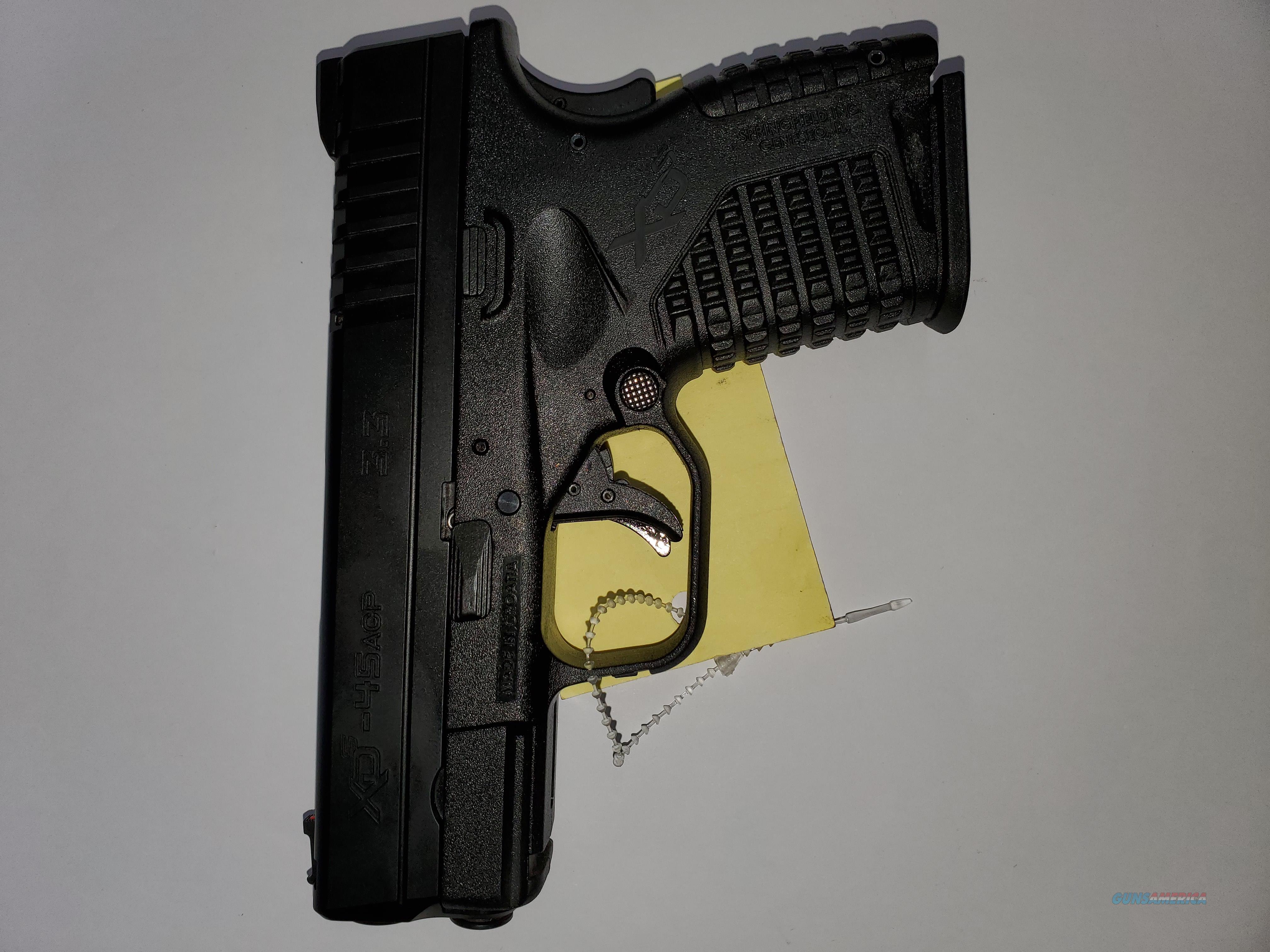 Springfield xds-45  Guns > Pistols > Springfield Armory Pistols > XD-S