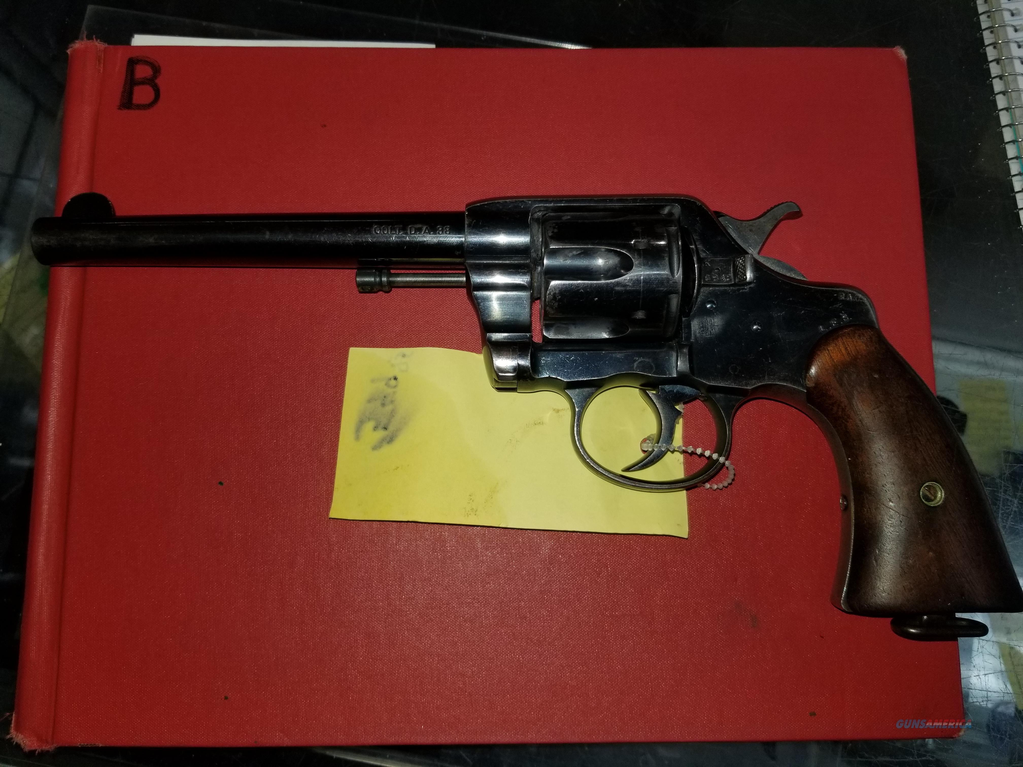 Colt DA 38spl  Guns > Pistols > Colt Double Action Revolvers- Pre-1945