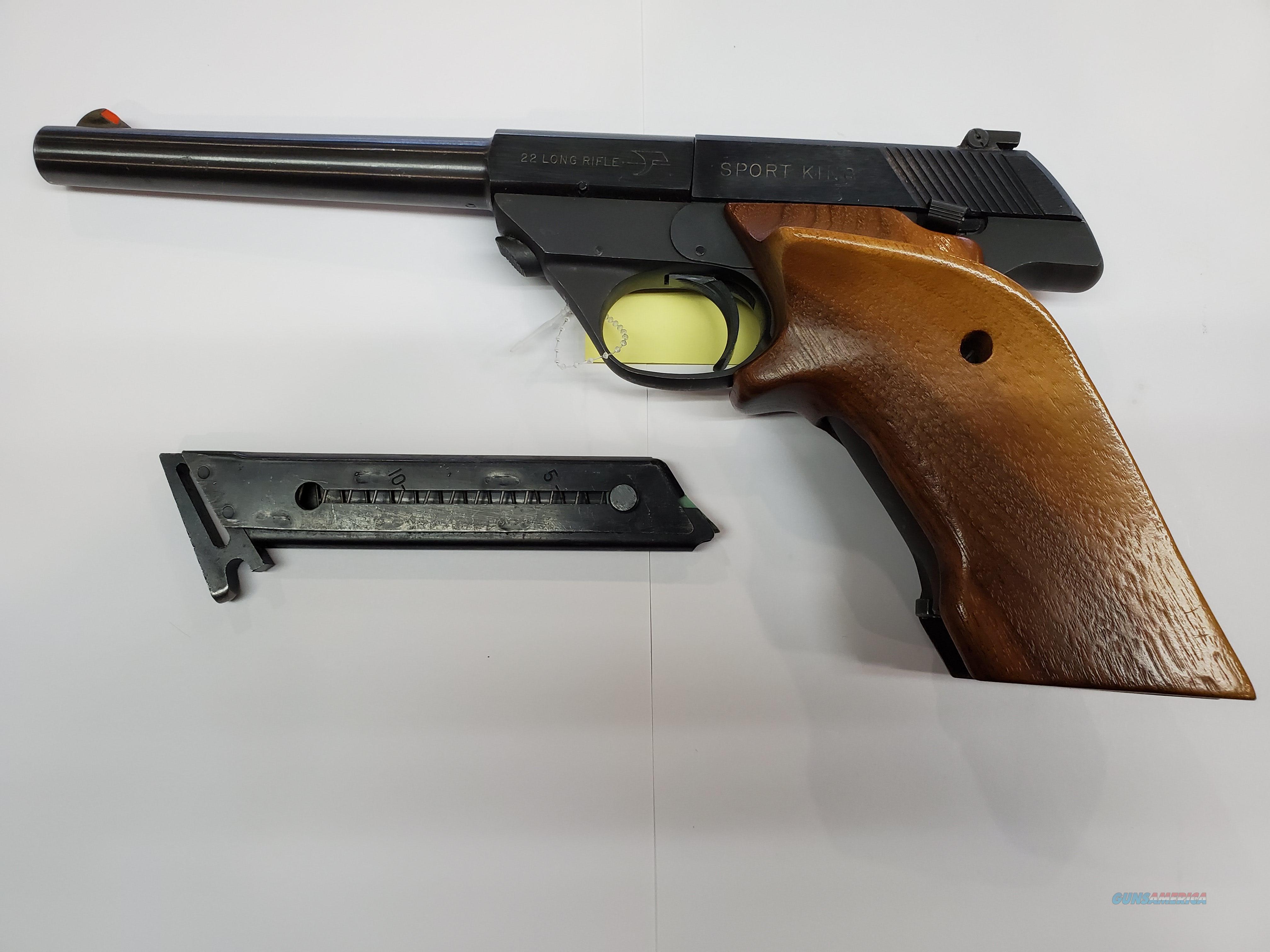 High standard Sport King  Guns > Pistols > High Standard Pistols