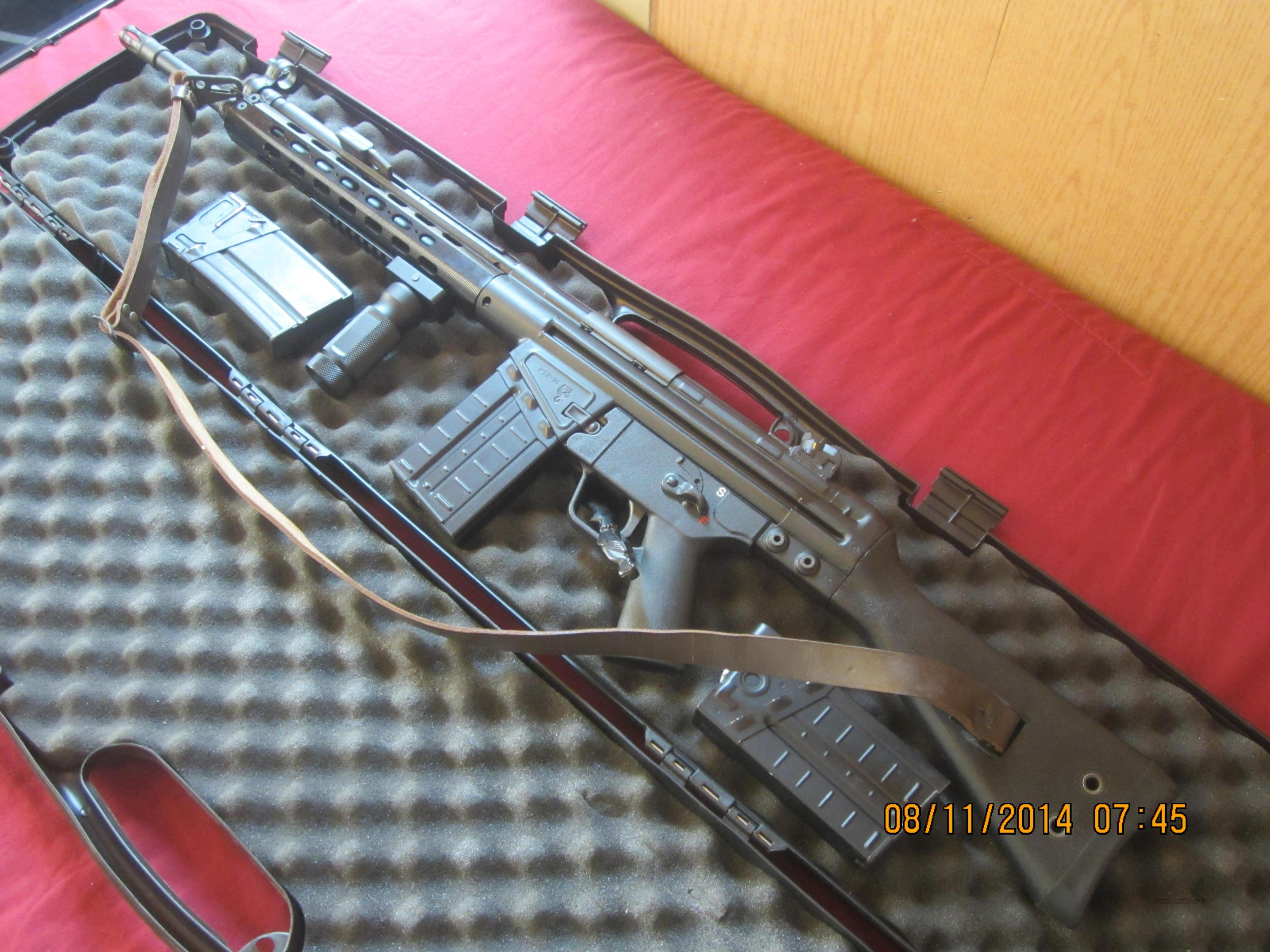 Ptr 91f 308 Hk 91 18 Quot Clone W Extras Price Low For Sale