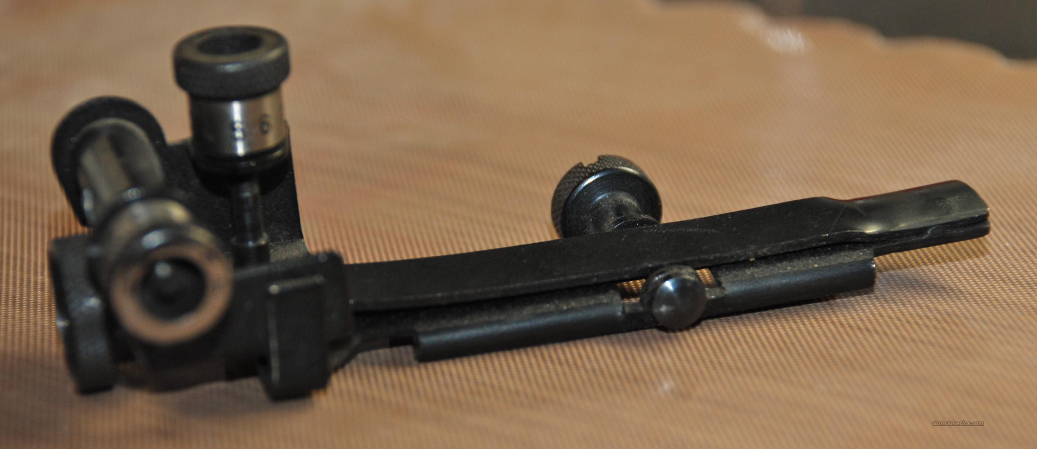 Anschutz 22 Rear Adjustable Sight  Non-Guns > Gun Parts > Antique & Collector Parts > WWII > Germany