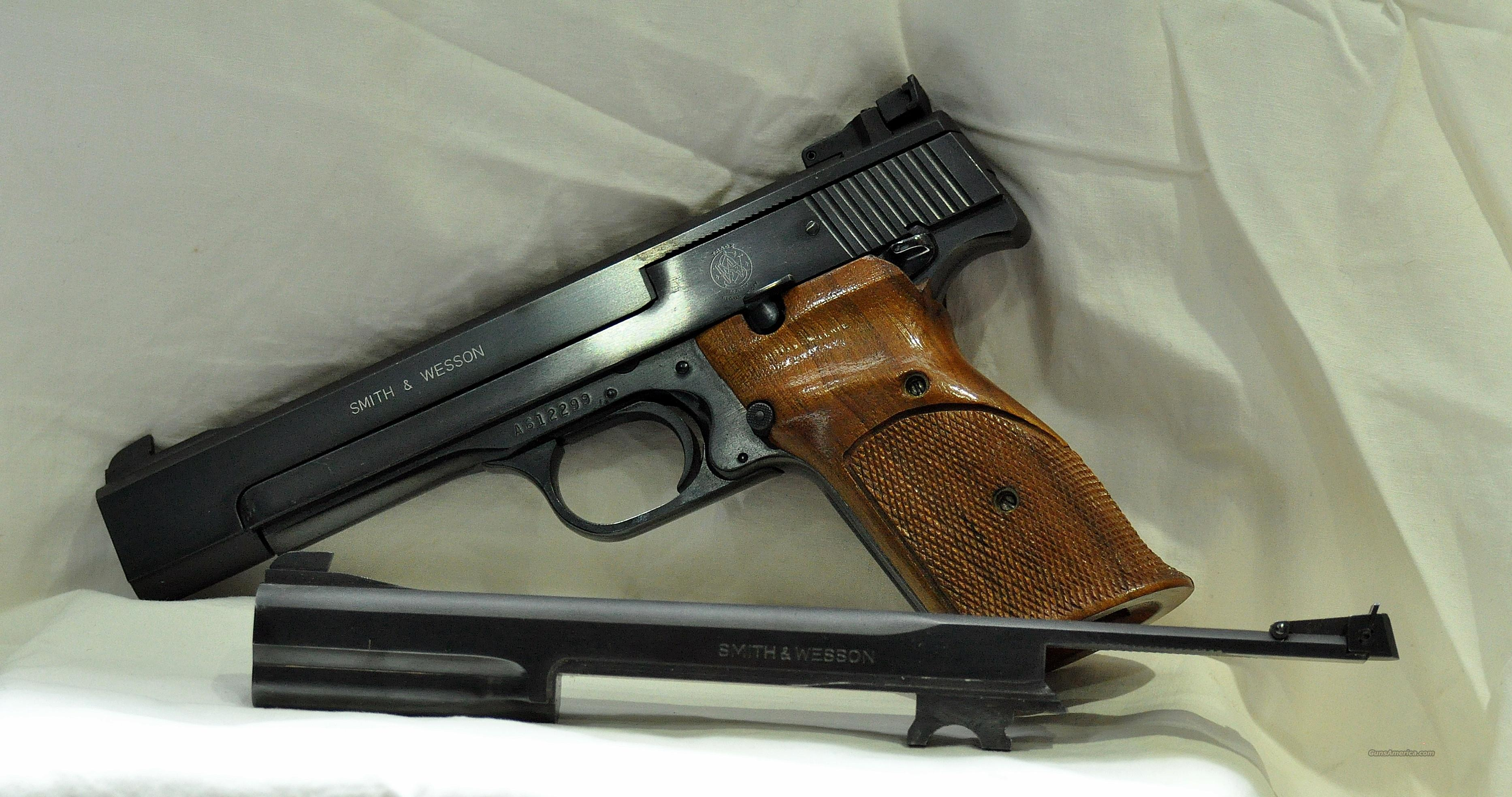Smith & Wesson model 41  Guns > Pistols > Smith & Wesson Pistols - Autos > .22 Autos
