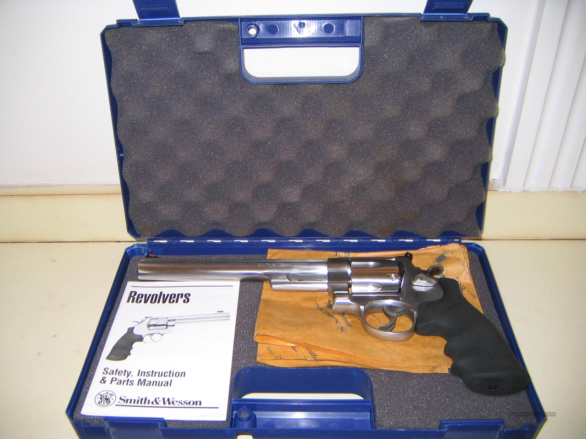 Smith & Wesson Model  629-6 44 Magnum 8 3/8 Barrel Satin Stainless  Guns > Pistols > Smith & Wesson Revolvers > Model 629