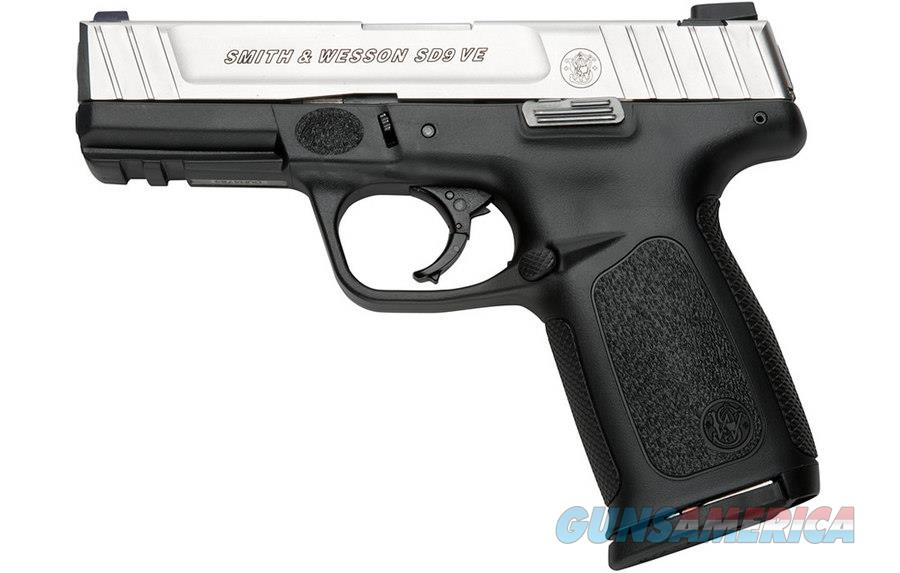 Smith & Wesson SD9 VE, 9mm, Duotone, Mfg# 223900, NIB, 3 Mags  Guns > Pistols > Smith & Wesson Pistols - Autos > Polymer Frame