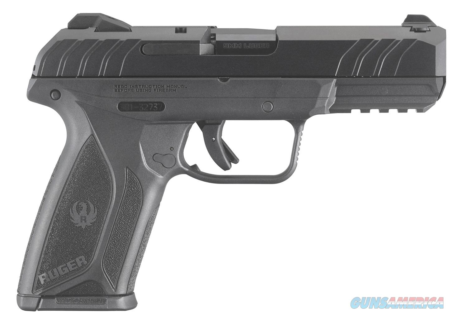 Ruger Security 9, Mfg# 3810, 9mm, 15+1 Rds, NIB  Guns > Pistols > Ruger Semi-Auto Pistols > Security 9