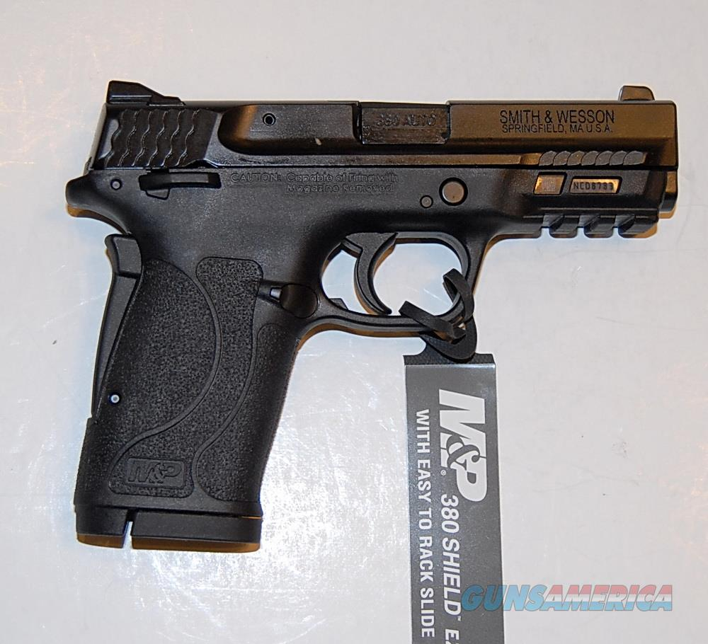 Smith & Wesson Shield M2.0 EZ, .380, W/ Safety, two 8 Rd Mags, NIB  Guns > Pistols > Smith & Wesson Pistols - Autos > Polymer Frame