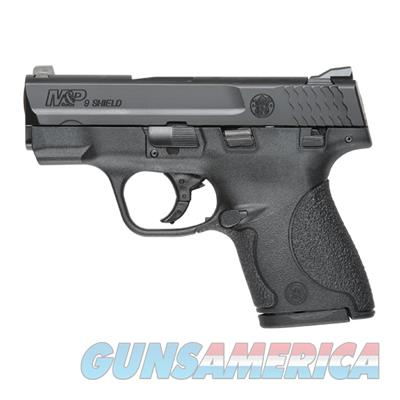 Smith & Wesson M&P9 Shield, 9mm, with Safety, Mfg#180021, 3.12 barrel, Black, NIB  Guns > Pistols > Smith & Wesson Pistols - Autos > Shield