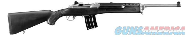 "Ruger Mini-14 Ranch Rifle, Stainless, 5.56/.223, 18.5"" barrel, Blk syn stock, NIB  Guns > Rifles > Ruger Rifles > Mini-14 Type"