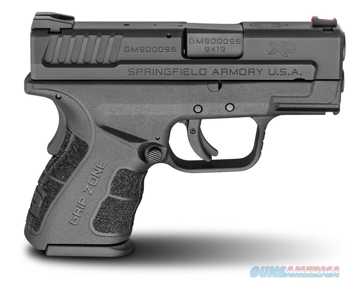 "Springfield XD Mod2 9mm, Mfg# XDG9801HC, 3"" barrel, Sub Compact, NIB  Guns > Pistols > Springfield Armory Pistols > XD-Mod.2"