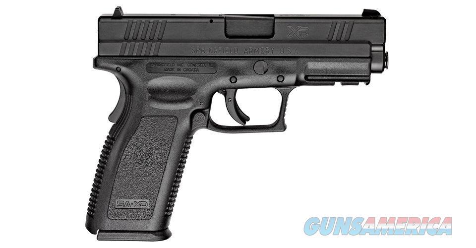 "Springfield XD Service 9mm, 4"" barrel, NOT CALIFORNIA LEGAL, NIB, Mfg# XD9104HCSP06  Guns > Pistols > Springfield Armory Pistols > XD (eXtreme Duty)"