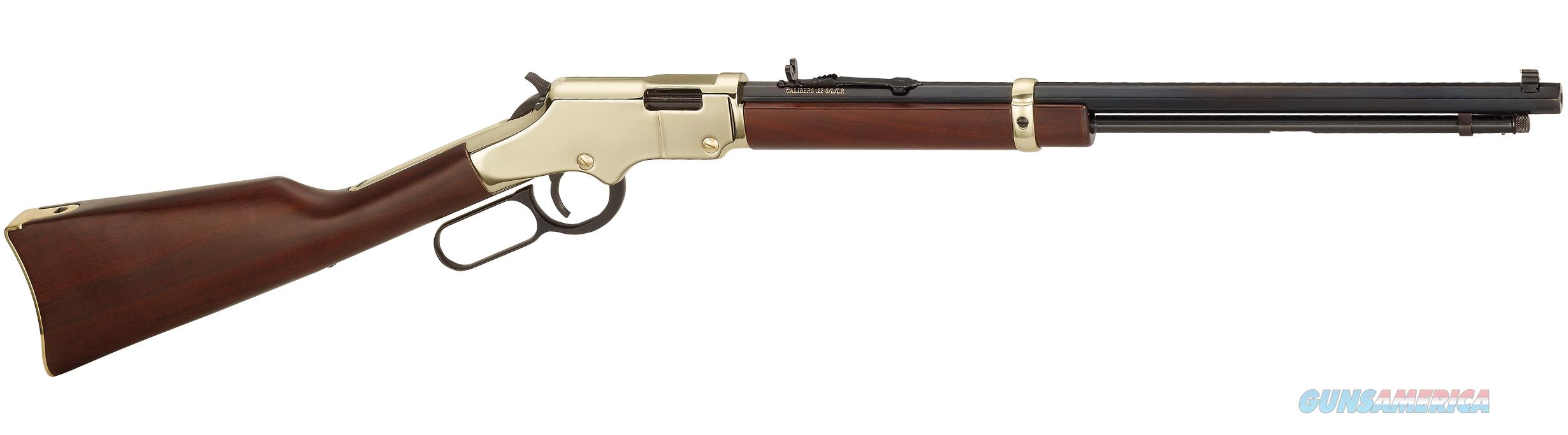 "Henry Golden Boy, 22 S/L/LR, 16 Rds LR, 20"" barrel, Mfg# H004, Brass receiver, NIB  Guns > Rifles > Henry Rifle Company"