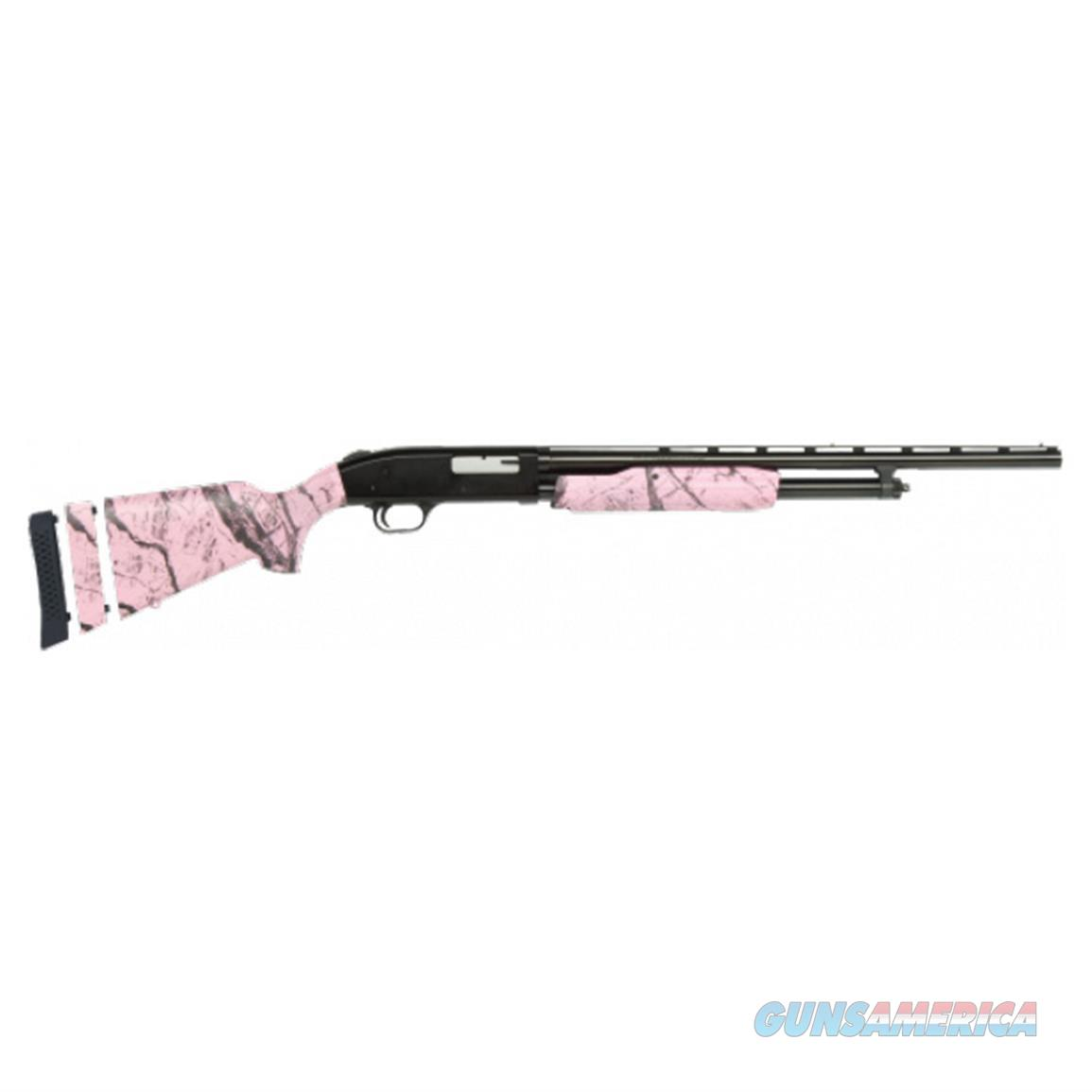 "Mossberg 500 Youth Super Bantam, 20 Ga, Pink Marble, Mfg# 54147, 22"" barrel, NIB  Guns > Shotguns > Mossberg Shotguns > Pump > Sporting"