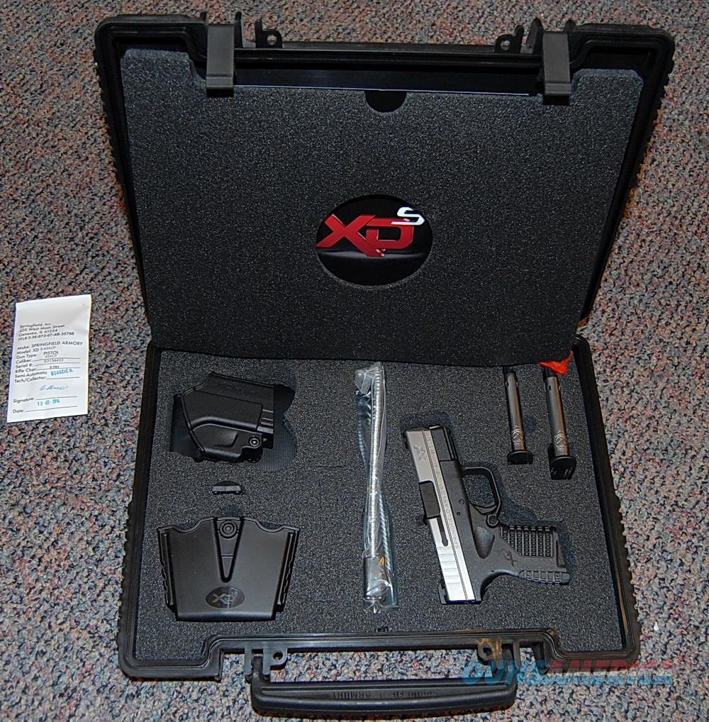 "Springfield XDS Bitone 45ACP, #XDS93345S, 3.3"",Kit Holster, Mag pouch  Guns > Pistols > Springfield Armory Pistols > XD-S"